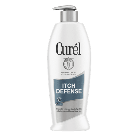 Curel Itch Defense Calming Body Lotion for Dry, Itchy Skin, 13 Ounces (Best Lotion Dry Itchy Skin)