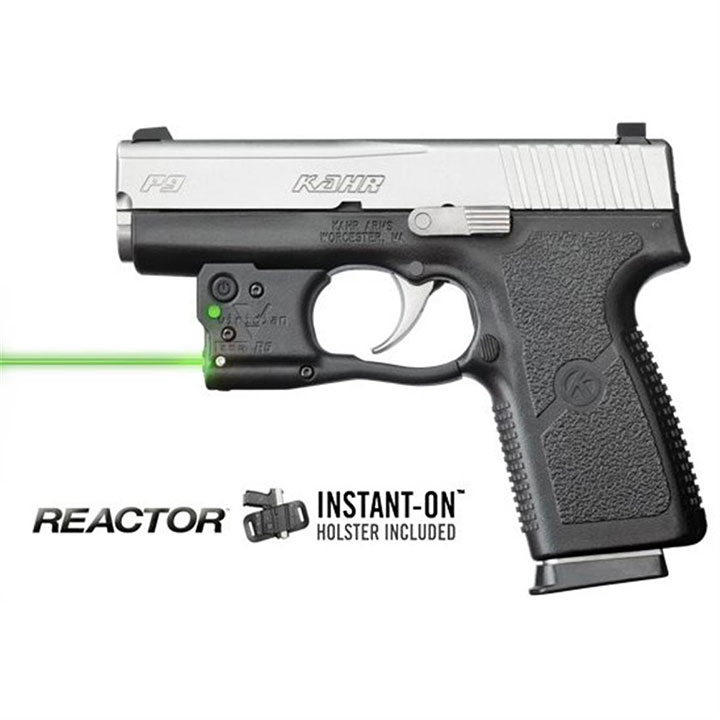 Viridian Reactor 5 Green Laser Sight Kahr PM9 40 with Holster by Viridian