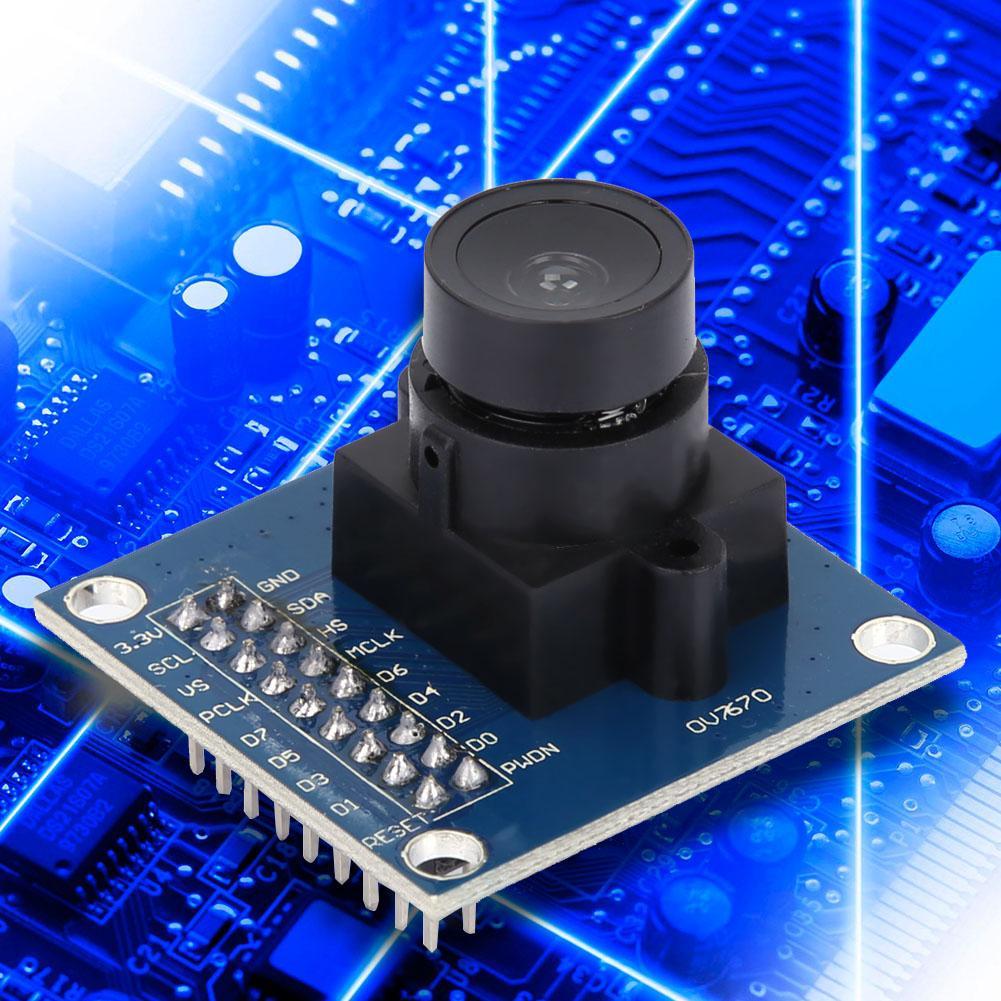 VGA OV7670 CMOS Camera Module Lens CMOS 640X480 SCCB Compatible W// I2C Interface