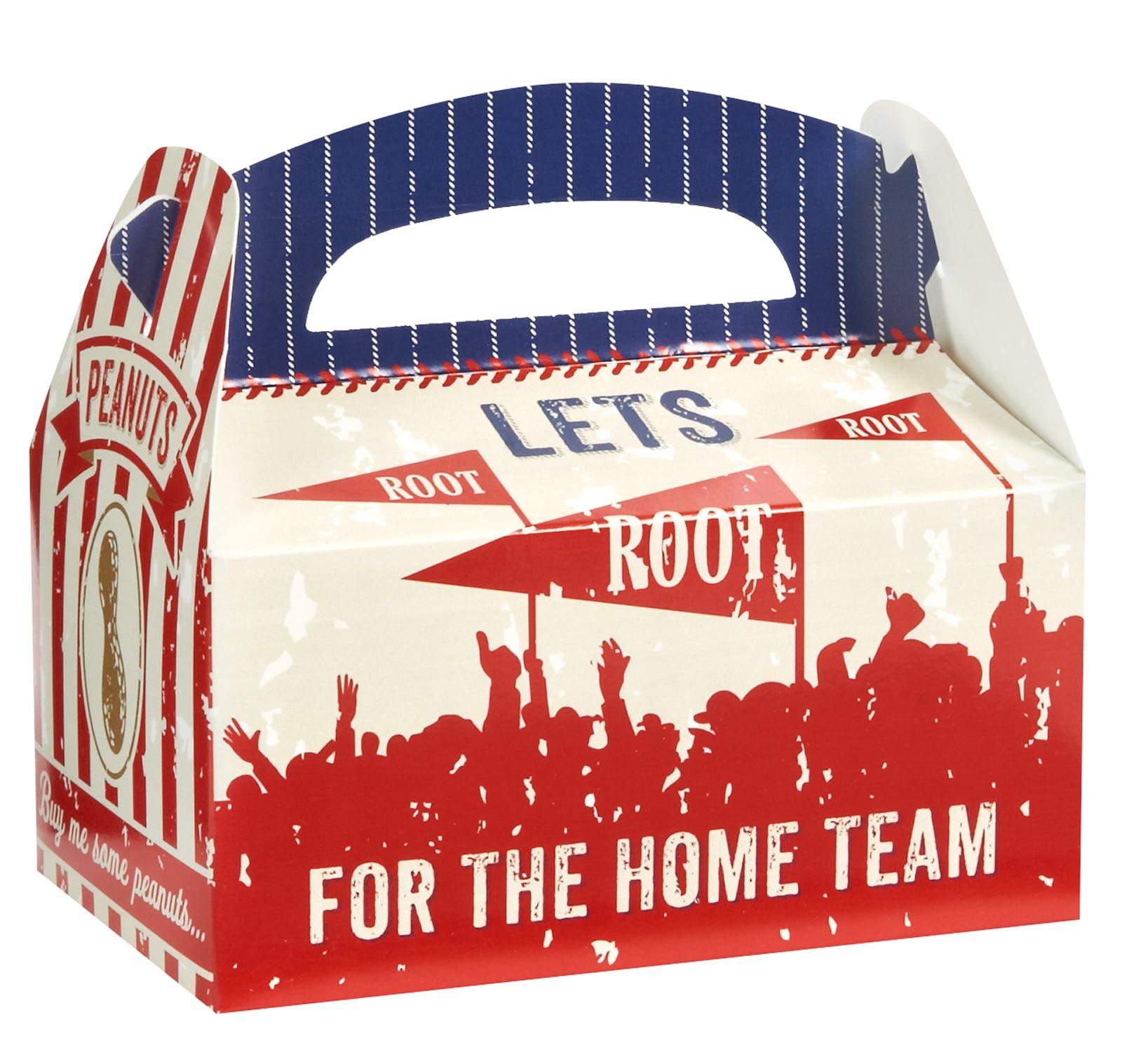 Baseball Party Supplies 12 Pack Favor Box