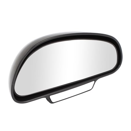 Father' s Day Gift l 13 x 7cm Black Arch Wide Angle Convex Right Blind Spot Mirror for Car Convex Blind Spot Mirror