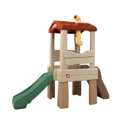 Step2 Lookout Treehouse Kids Outdoor Playset Climber with Slide by The Step2 Company