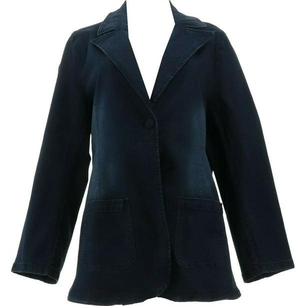 DG2 Diane Gilman FLEXstretch Tailored Blazer MIDTONE XL NEW 716-081