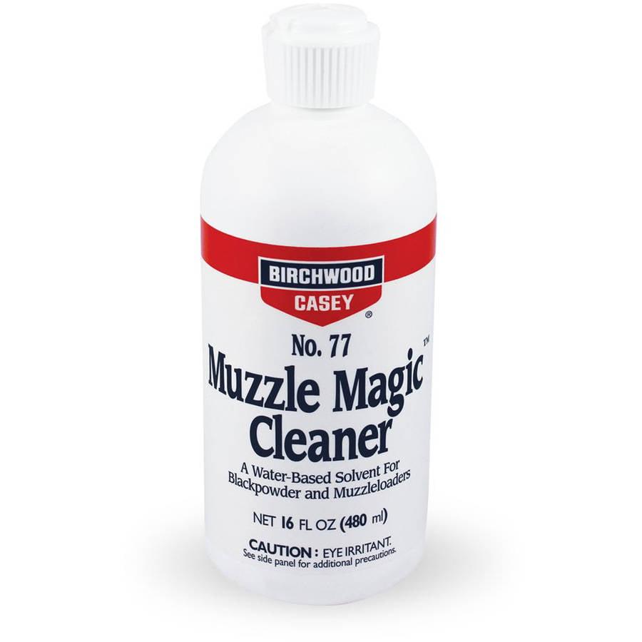 Muzzle Magic No. 77 Black Powder Solvent 16 ounce by Birchwood Casey