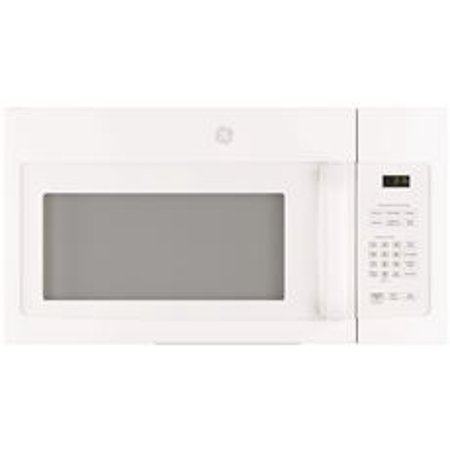 GE 1.5 CU.FT. OVER-THE-RANGE MICROWAVE OVEN, WHITE, 950 W