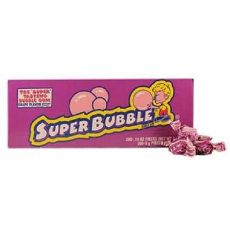 Super Bubble Gum (Super Bubble Bubble Gum, Grape, 300)