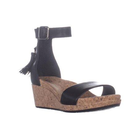 8169df66bde UGG Australia Zoe Ankle Strap Wedge Sandals