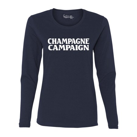 Champagne Campaign Bridal Womens Long Sleeve