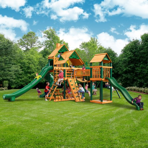 Gorilla Playsets Treasure Trove II Swing Set by Overstock