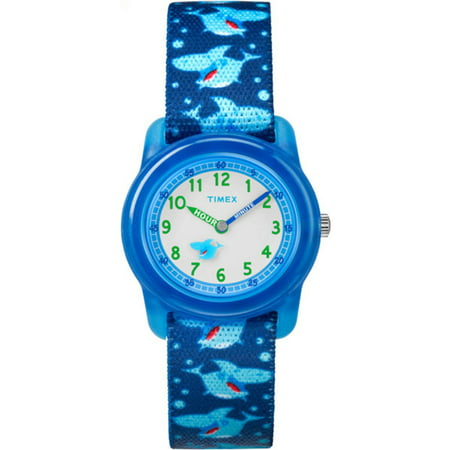 Click here for Timex Boys Time Machines Analog Watch  Blue Sharks... prices