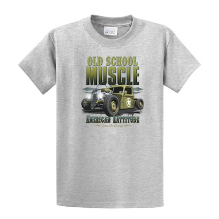 Hot Rod T Shirts >> Trenz Shirt Company Hot Rod T Shirt Old School Muscle Rat Rod