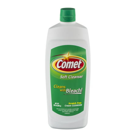 Comet Soft Cleanser With Bleach  24 0 Oz