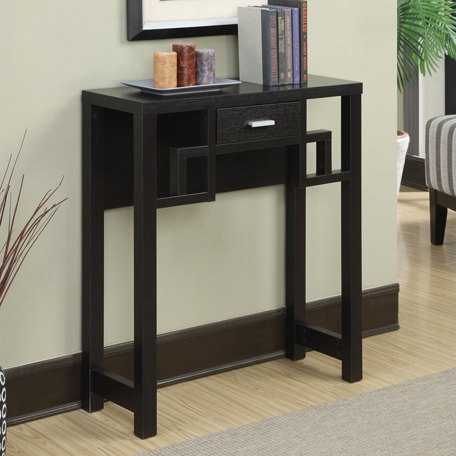 Convenience Concepts Newport Laurel Console Table by Generic