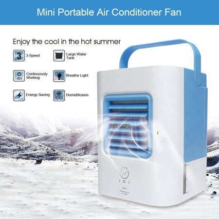 - WALFRONT 2 Colors Portable Mini Air Conditioner Fan USB Air Cooler Cooling System Indoor Humidifying Conditioner Fan,Air Condition Fans