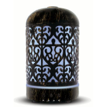 Victorian Metal Ultrasonic Aromatherapy Essential Oil Diffuser Victorian Collection Oil