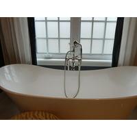 Canvas Print Bathroom Interior Tub Bathtub White Home Bath Stretched Canvas 10 x 14