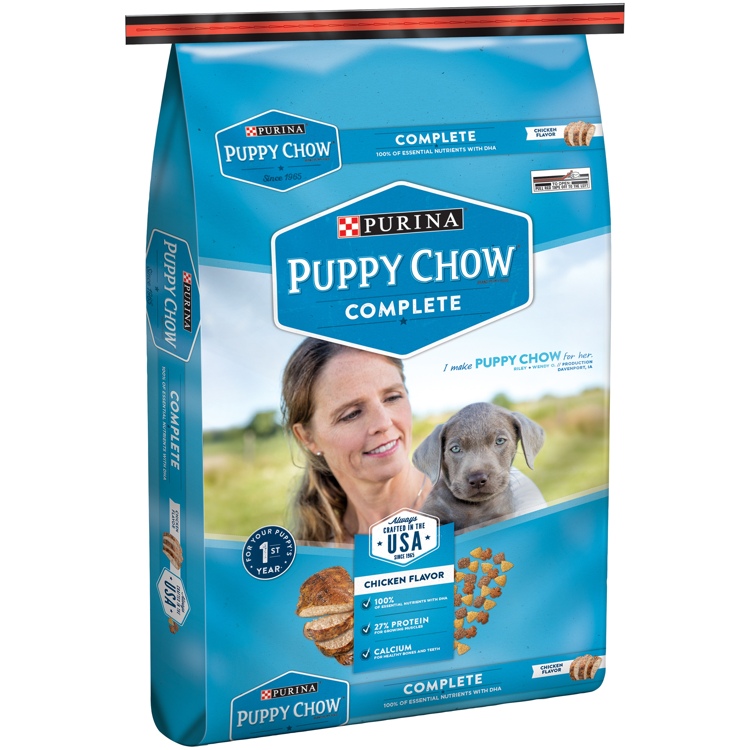 Purina Puppy Chow Complete Dry Dog Food, 16.5 Lb.
