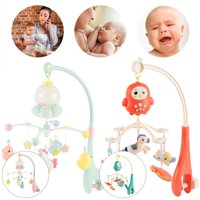 Willstar High-end Musical Crib Mobile Baby Toys 1-20 Months Bed Bell Mobile for Crib Toys with Remote Control(optional)