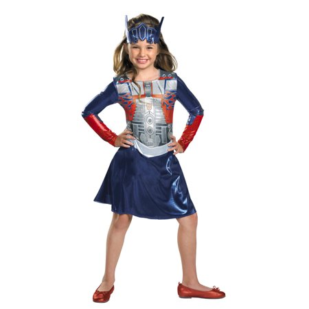 Transformers 3 Dark of the Moon Optimus Girl Toddler Halloween Costume - Girl Transformer Halloween Costume