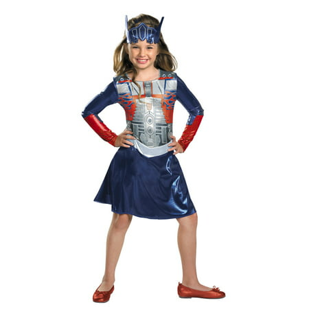 Transformers 3 Dark of the Moon Optimus Girl Toddler Halloween Costume - Girls Transformers