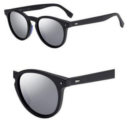 Sunglasses Fendi Men Ff M 1/S 0003 Matte Black/T4 silver mirror lens