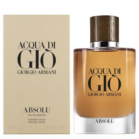- Giorgio Armani Acqua Di Gio Absolu Cologne Mens Eau De Parfum Spray 2.5 oz