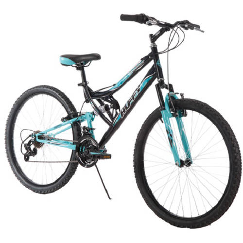 "Huffy 26"" Trail Runner Womens Mountain Bike, Black"