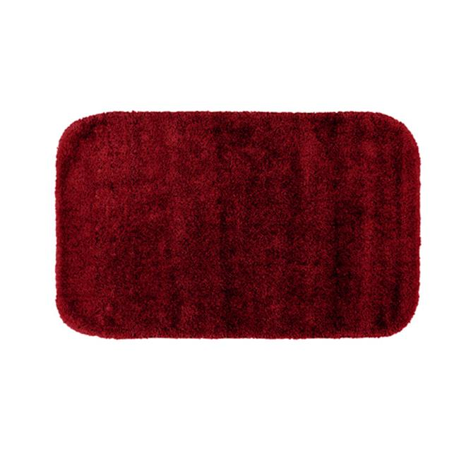 Garland Rug Traditional Plush Washable Nylon Rug Chili Pepper