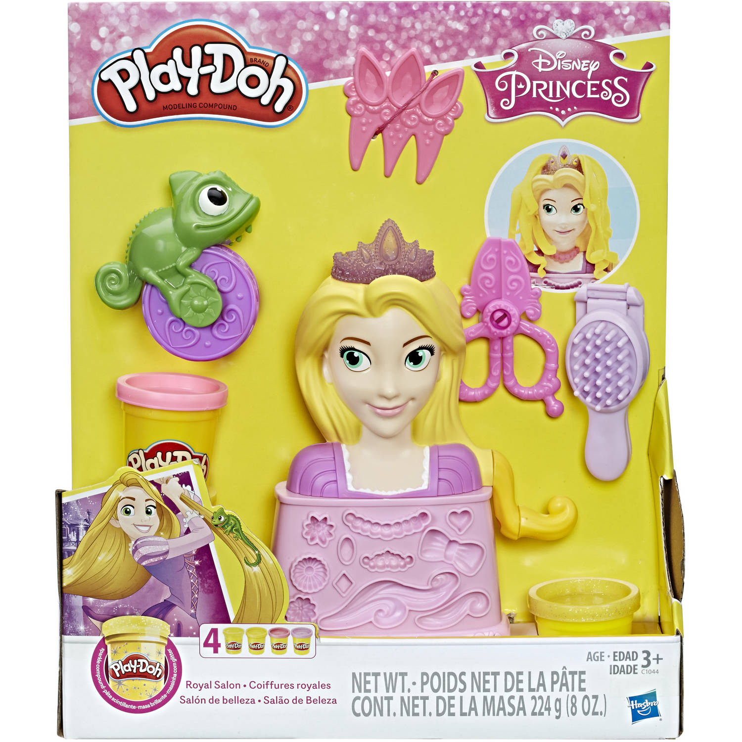 Play-Doh Disney Royal Salon Set with Rapunzel