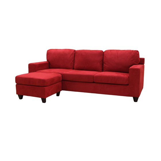 Acme Furniture Vogue Sectional Sofa Walmart Com