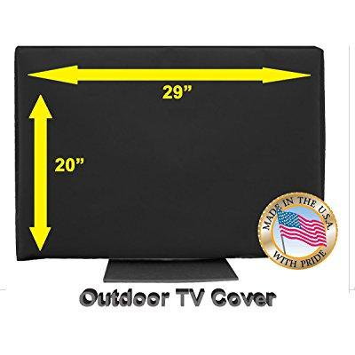 Outdoor Tv Cover  29  Black  Not For Direct Sun