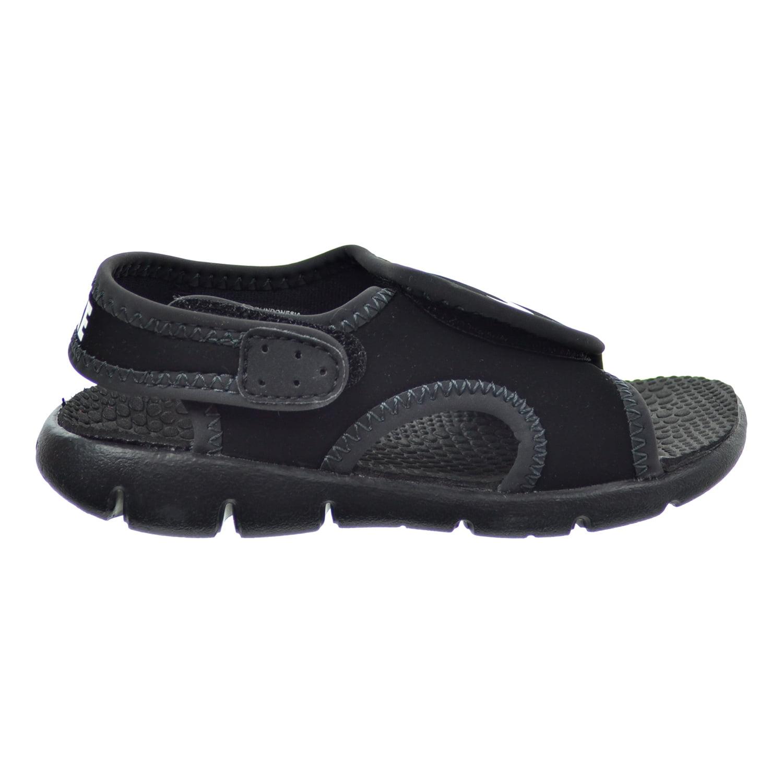 82251338f8 ... usa nike sunray adjust 4 td toddlers sandals black white anthracite  386519 011 7 m us