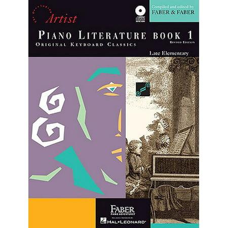 Piano Literature - Book 1 : Developing Artist Original Keyboard Classics