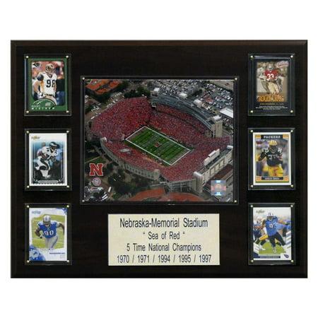 C&I Collectables NCAA Football 16x20 Nebraska Memorial Stadium Stadium Plaque ()