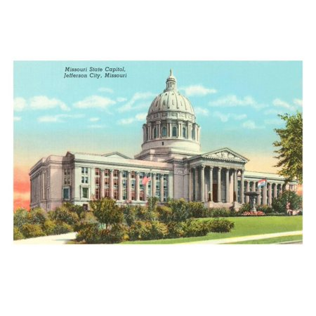 Party City Missouri (State Capitol, Jefferson City, Missouri Print Wall)