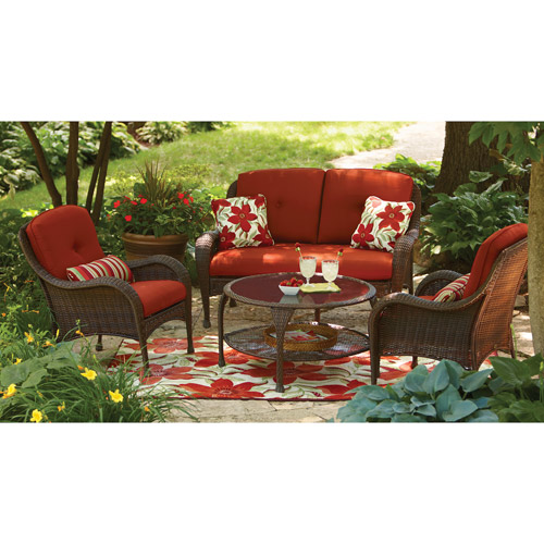 Better Homes and Gardens Lake Island 4-Piece Conversation Set