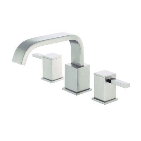 Danze D300933BNT Reef 2-Handle Roman Tub Faucet w/out Spray Trim Kit (Brushed Nickel)