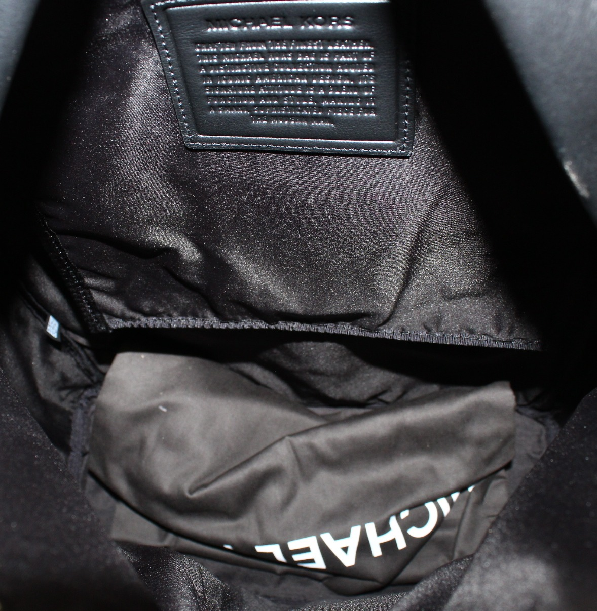 3019c39b29fc MICHAEL KORS NEW Black Pebble Leather Odin Resina Men s Backpack Bag -  Walmart.com