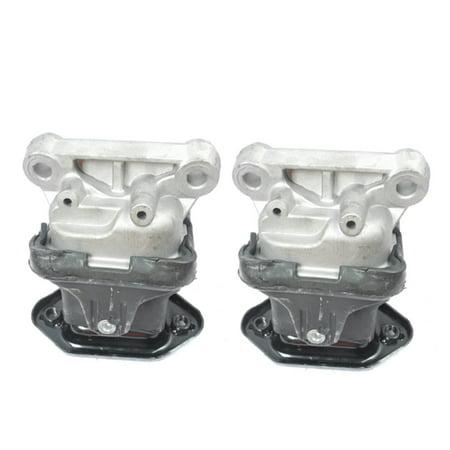 For 05-10 Chrysler Challenger Dodge Charger Magnum Brand New CF Advance Engine Motor Mount Set 2 M368 05 06 07 08 09 (Best Engine Mount Brand)