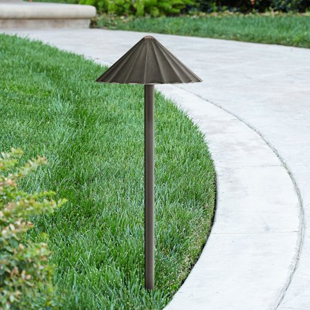 Super Duty Davenport Bronze Scalloped 3 Watt LED Landscape Path (Bronze Scallop)