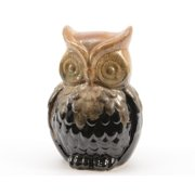 Northlight Seasonal Luxury Lodge Porcelain Owl Decorative Christmas Table Top Decoration