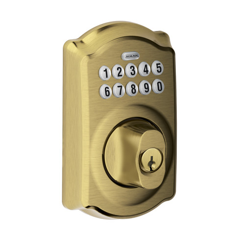Electronic Locks Install An Electronic Deadbolt Schlage