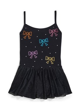 Jacques Moret Colorful Sparkle Cami Dance Skirted Leotard (Little Girls & Big Girls)