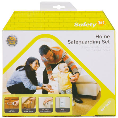 Safety 1st Home Safeguarding Set, 80 pcs