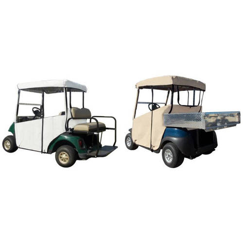 "3-Sided Fitted ""Over-The-Top"" Golf Cart Cover, E-Z-GO RXV"