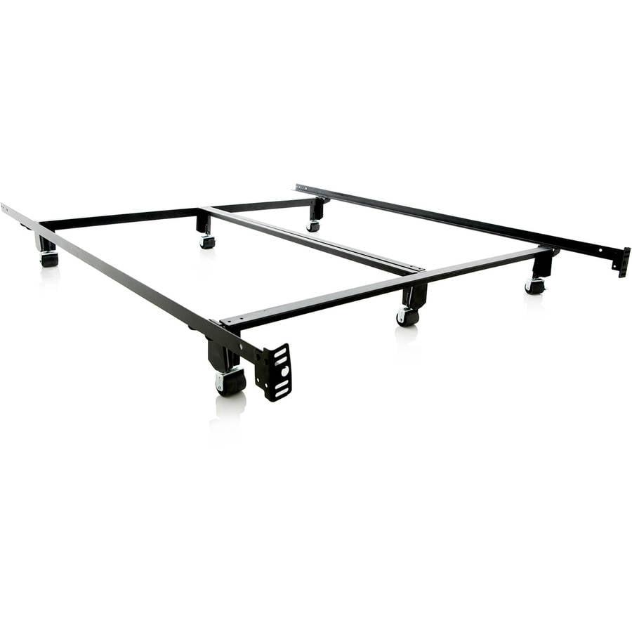Structures Steelock Super Duty Steel Metal Bed Frame Walmartcom