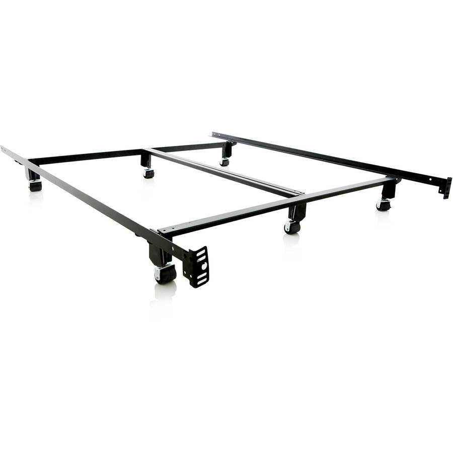 structures steelock super duty steel metal bed frame