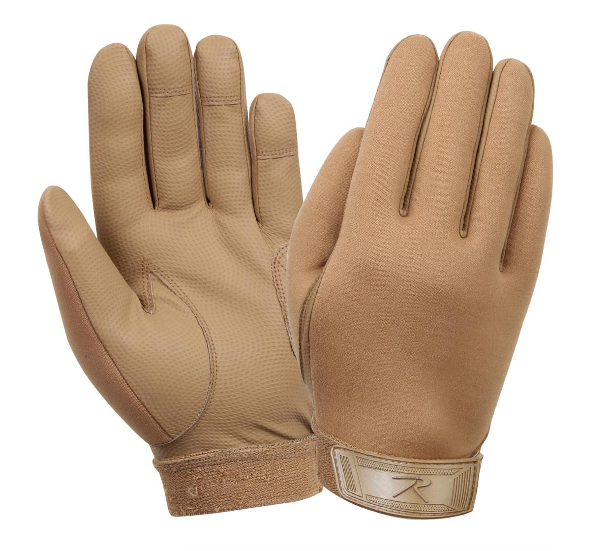 Rothco Coyote Brown Multipurpose Neoprene Gloves by Rothco