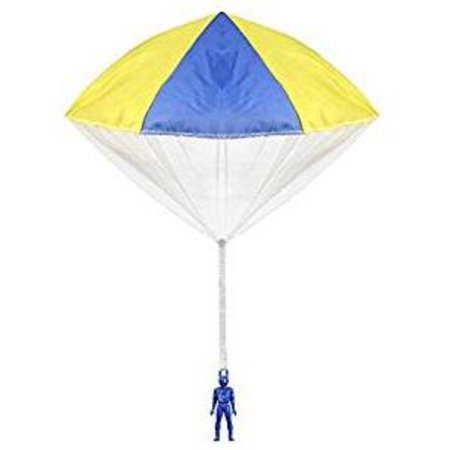 Aeromax Original Tangle Free Toy Parachute has no strings to tangle and requires no batteries. Simp (Multi Colored Nylon Parachute)