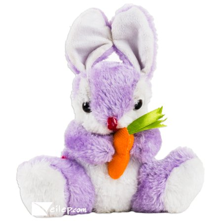 Baby Animals Cube (Veil Entertainment Spring Easter Cute Baby Bunnies with Carrots 8